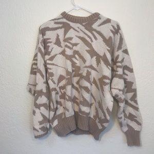 Sweaters - New Condition Cream/ Tan Sweater